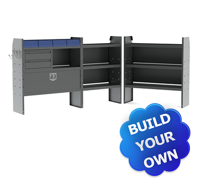 Build Your Own Metris Shelving Packages