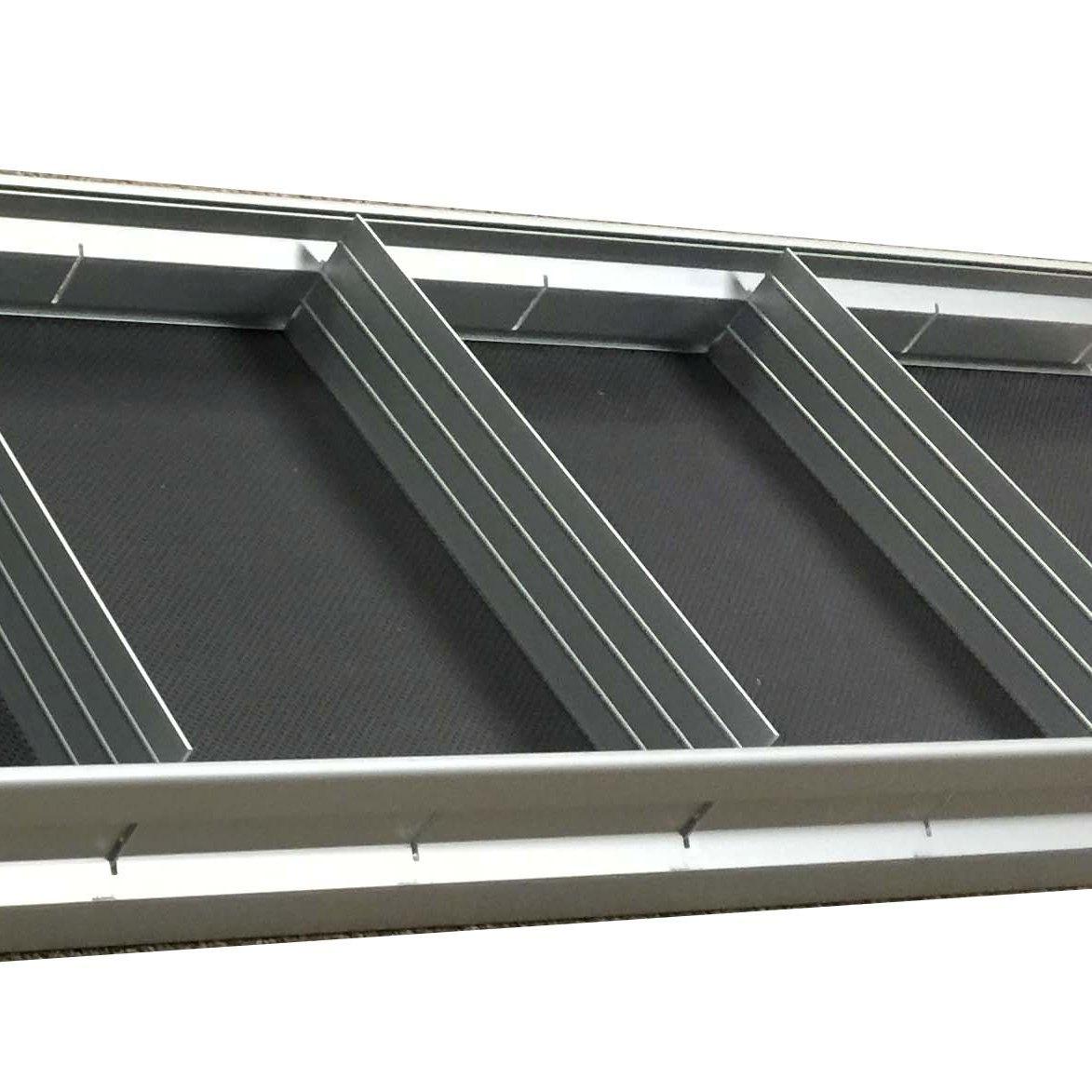 shelf dividers set of 5 for aluminum shelf only