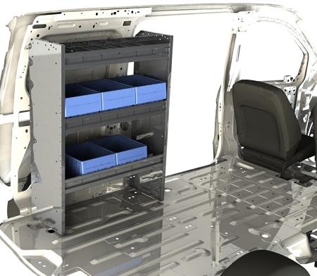 64 aluminum van shelving package. Black Bedroom Furniture Sets. Home Design Ideas