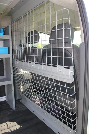 Wire Partition Bulkhead For Compact Van