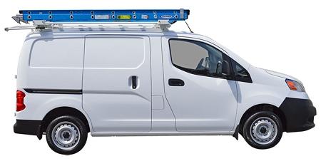 Compact Van Ez Drop Down Ladder Rack