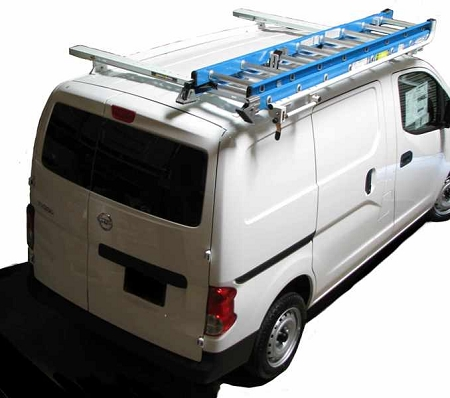 nv200 clamp and lock ladder rack
