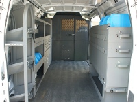 Van Shelf & Storage