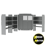 Kargo Master ProMaster SWB Base Steel Shelving Package