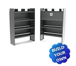 Kargo Master Sprinter Basic Steel Van Shelving Package