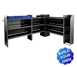 Kargo Master Ford Transit Low Roof Telecom/Electrical Steel Van Shelving Package
