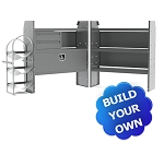 Kargo Master E-Series HVAC/Plumbing Steel Van Shelving Package