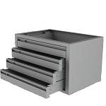 Steel 4 Drawer Cabinet