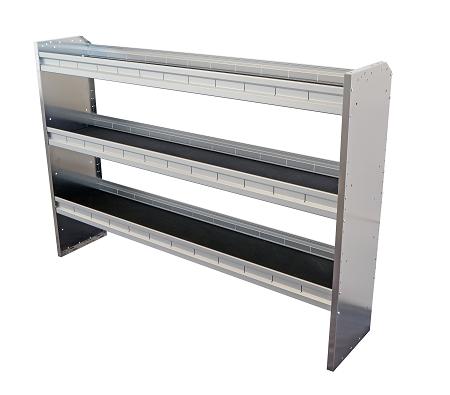 aluminum 62 ez adjustable van shelf. Black Bedroom Furniture Sets. Home Design Ideas