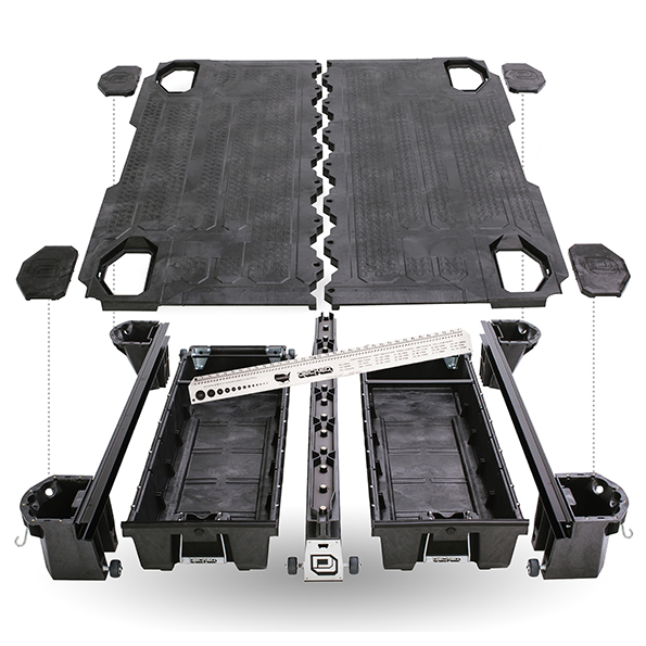 Truck Bed Tool Box With Drawers >> Ford Super Duty Truck DECKED Drawer System