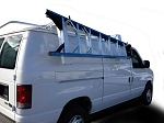Kargo Master Ford E-Series/GM Cargo Van Drop Down Ladder Rack