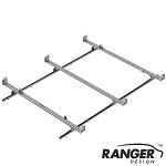 Ranger Design Cargo Rack For Vans, 3 Bar System for Ford Transit LWB