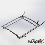 Ranger Design Combination Rack For Cargo Vans, 2 Bar System for Ford Transit RWB