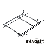 Ranger Design Combination Rack For Cargo Vans, 2 Bar System for Nissan NV200 and Chevy City Express