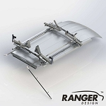 Ranger Design Double Drop Down Ladder Rack for Mercedes Sprinter