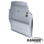 Ranger Design Solid Contoured Aluminum Partition for Nissan NV High Roof