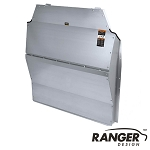 Ranger Design Solid Contoured Aluminum Partition for Ford Transit Medium Roof