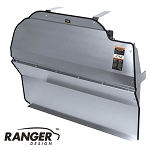 Ranger Design Solid Contoured Aluminum Partition for Chevy/GM Full Size Cargo Van