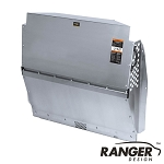 Ranger Design Solid Contoured Aluminum Partition for RAM ProMaster City