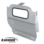 Ranger Design Aluminum Window Contoured Partition for Nissan NV200 and Chevy City Express