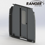 Ranger Design Sliding Door Aluminum Partition for Mercedes Sprinter Low Roof