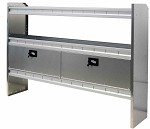 Kargo Master Aluminum Van Shelving Door Kit