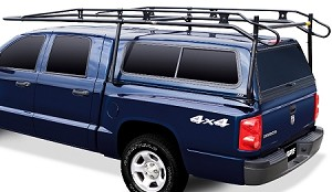 PROIII Adjustable Ladder Rack for Medium Size Truck with Camper Shell