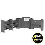 Kargo Master Transit Low Roof America's Most Popular Van Steel Shelving Package for 148