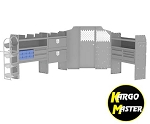 Kargo Master Metris HVAC Repair Van Shelving Package