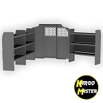 Kargo Master Metris Base Van Shelving Package