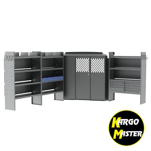 Kargo Master High Roof Nissan Nv General Service Steel Van