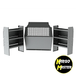 Kargo Master ProMaster City Commercial Steel Shelving Package