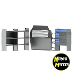 Kargo Master ProMaster City HVAC Van Steel Shelving Package