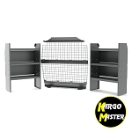 Kargo Master Chevy City Express Wire Partition Shelving Package