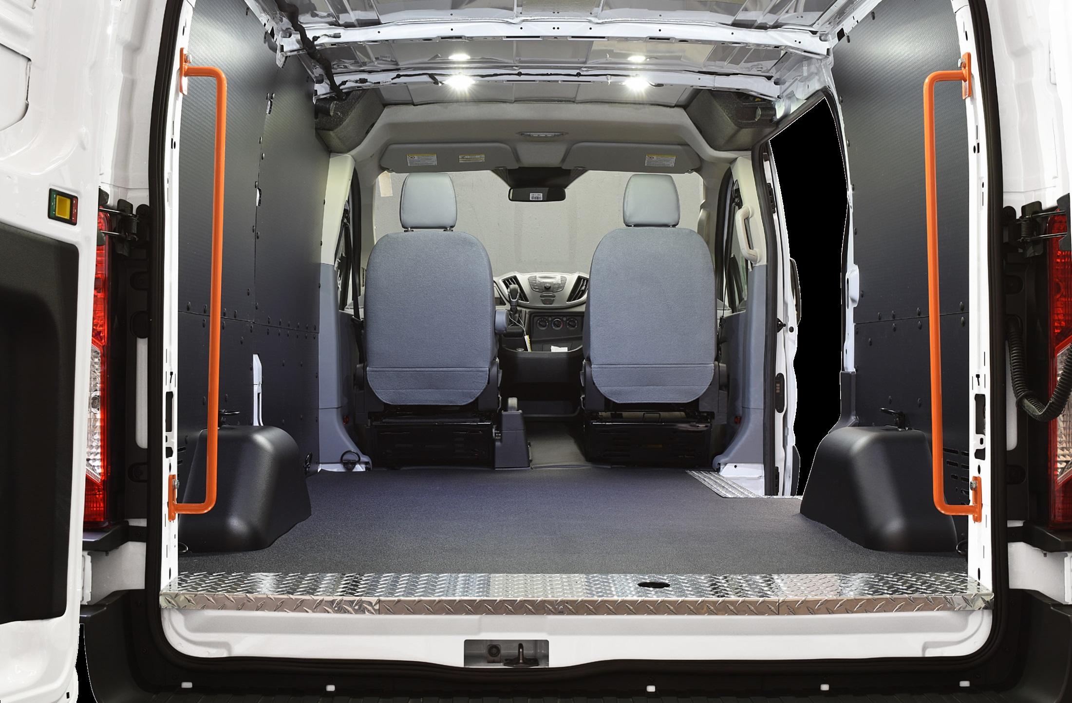 Ford Transit Rear Door Safety Grab Handles
