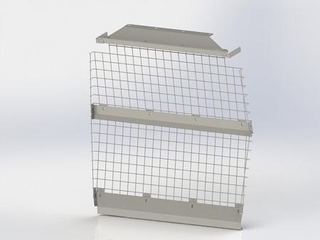 Kargo Master Compact Van Wire Partition Bulkhead