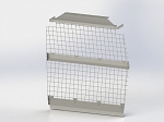Kargo Master Compact Van Wire Partition Bulkhead