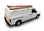 Kargo Master Steel Clamp & Lock Ladder Rack for Metris and Low Roof Ford Transit/Nissan NV