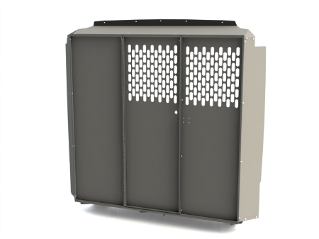 Kargo Master Mid/High Roof Partition Bulkhead - Perforated Panel