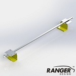 Ranger Design Aluminum Interior Ladder Carrier, 96