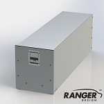 Ranger Design Aluminum Tool Drawer for Cargo Vans (48 x 14 x 16 in)