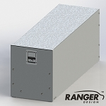 Ranger Design Jumbo Aluminum Tool Drawer for Cargo Vans (48 x 16 x 19 in)