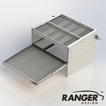 Ranger Design Axess Tray Sliding Cargo Tray
