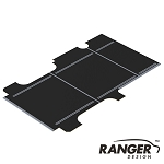 Ranger Design Cargo Van Flooring for GMC Savana/Chevy Express Regular WB