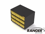 Ranger Design Steel Drawer Cabinet with 9 Divided Drawers