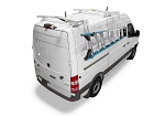 Kargo Master Mid/High Roof S-Series Cargo Van Drop Down Ladder Rack