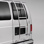 Surco Stainless Steel Van Ladder for 1997+ Chevy Van