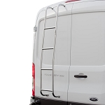 Surco Stainless Steel Van Ladder for Ford Transit Low Roof