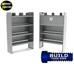 Kargo Master FORD Transit Mid/High Roof Steel Van Shelving Package