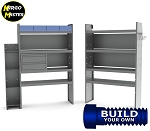 Kargo Master ProMaster Telecom/Electric Std/High Roof Steel Van Shelving Package